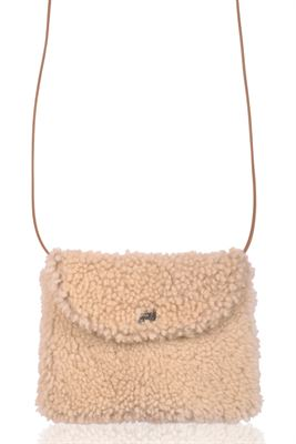 Sheepskin Crossbody Bag Brandy Cream - Boo