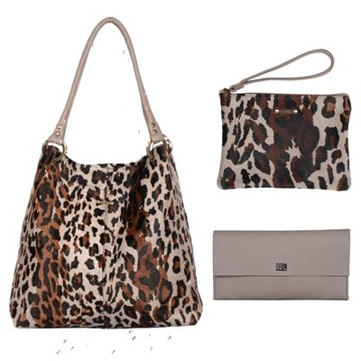 Christmas Combo Deal Cowhide - Cloud Leopard