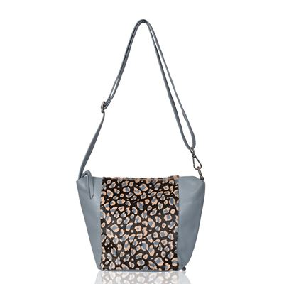 Cowhide Shoulder/Crossbody Bag Waterlily Pilot - Charlton