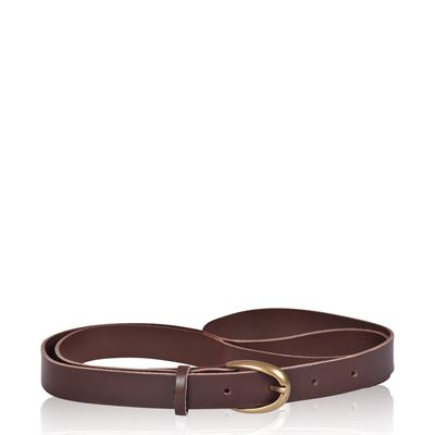 Skinny Leather Belt - Neo