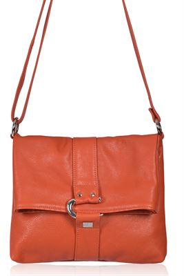 Leather Crossbody Bag - Calle