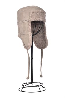 Sheepskin Trapper Hat Pale - Garth