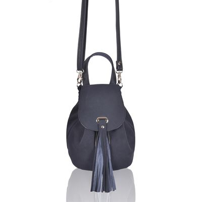 Suede Crossbody/Grab Bag - Kealey