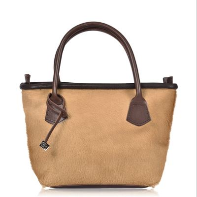 Cowhide Tote/Grab Bag - Lomand