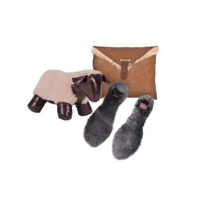 Christmas Combo Deal Sheepskin - Natural