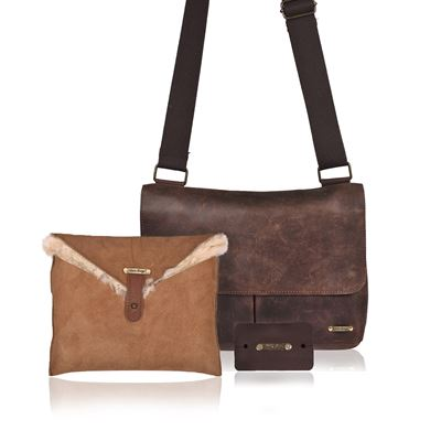 Christmas Combo Deal Leather - Brandy Iroko