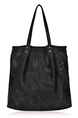 Leather Tote/Shoulder Bag - Morgan