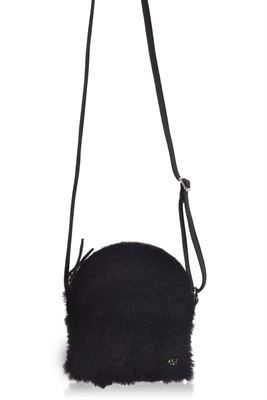 Sheepskin Crossbody Bag - Farne