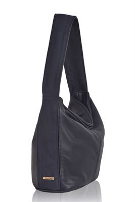 Leather Shoulder Bag - Gable