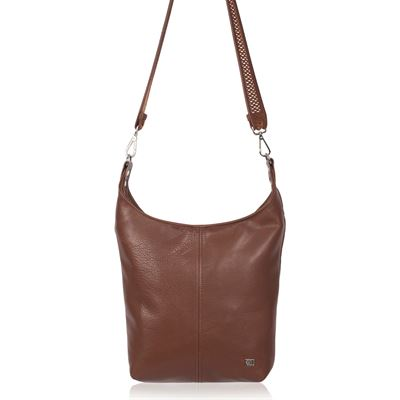 Leather Crossbody Bag Tan - Westie