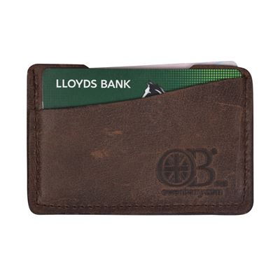 Leather Card Wallet - Cody