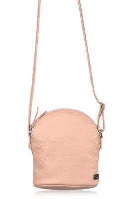Leather Crossbody Bag - Farne