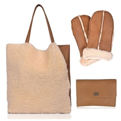 Christmas Combo Deal Sheepskin - Brandy Cream
