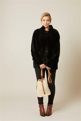 Sheepskin Crossbody Bag - Toots
