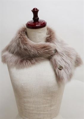 Sheepskin Button Scarf - Ailsa