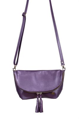 Leather Crossbody/Clutch Bag - Wilson