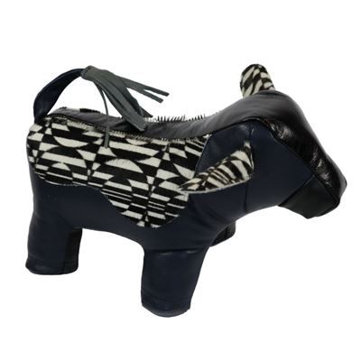 Cowhide Cow Doorstop Multi