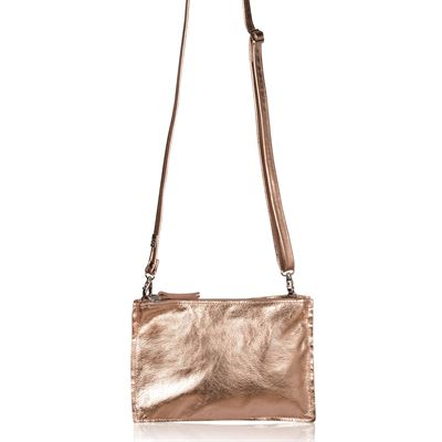 Leather Crossbody/Clutch Bag - Thermus