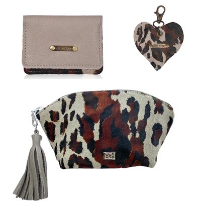 Christmas Combo Deal Cowhide - Cloud Leopard/Thunder