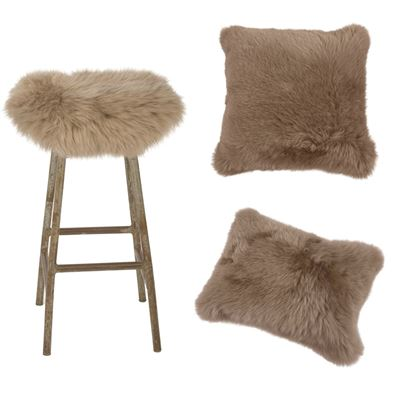 Christmas Combo Deal Sheepskin - Taupe