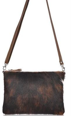 Cowhide Crossbody/Clutch Bag - Thurston