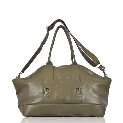 Leather Holdall - Fiennes