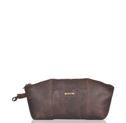 Leather Essentials Bag - Pugwash
