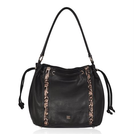 Cowhide Shoulder Bag - Joshua