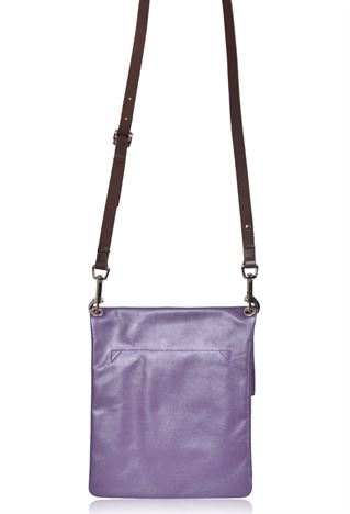 Leather Crossbody Bag - Z Top Sac Small