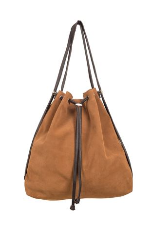 Suede Backpack/Shoulder Bag - Mathilde