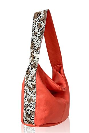 Cowhide Shoulder Bag - Gable