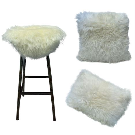 Valentines Combo Deal Sheepskin - Natural Ivory