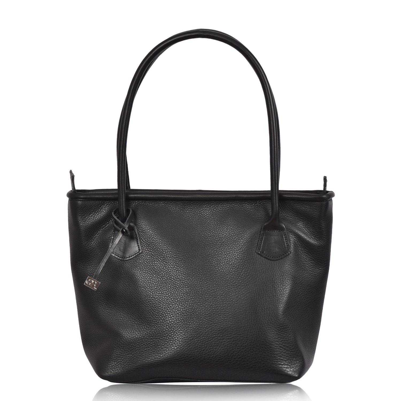 6c6385acd728 Leather Tote Shoulder Bag - Hurdler