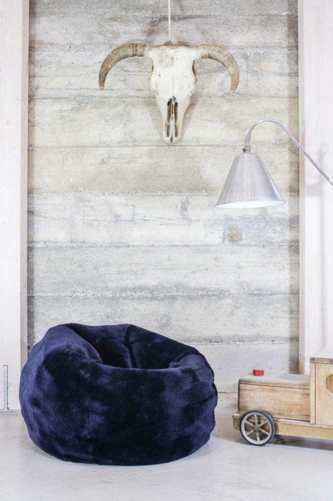 Marvelous Sheepskin Small Beanbag Uk Domestic Creativecarmelina Interior Chair Design Creativecarmelinacom