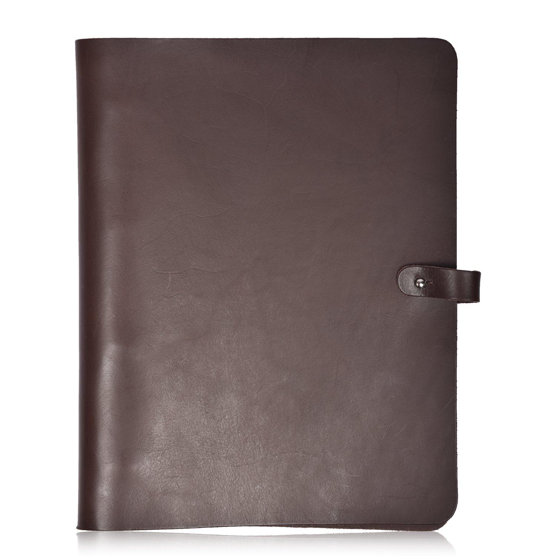 Leather A4 Ring Binder Folder